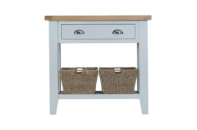 Country Console Table (Ferndown Grey)