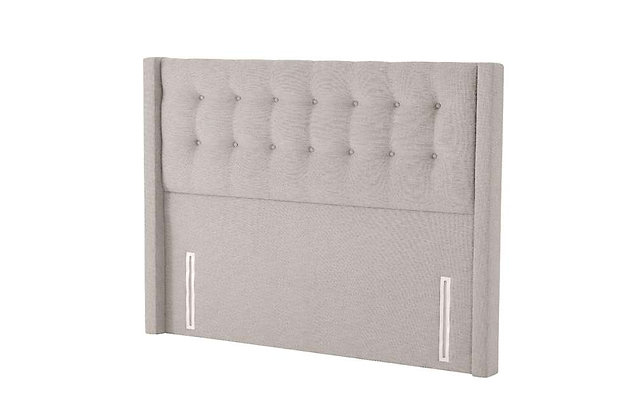 Silentnight Bloomsbury Floorstanding Fabric Upholstered Headboard
