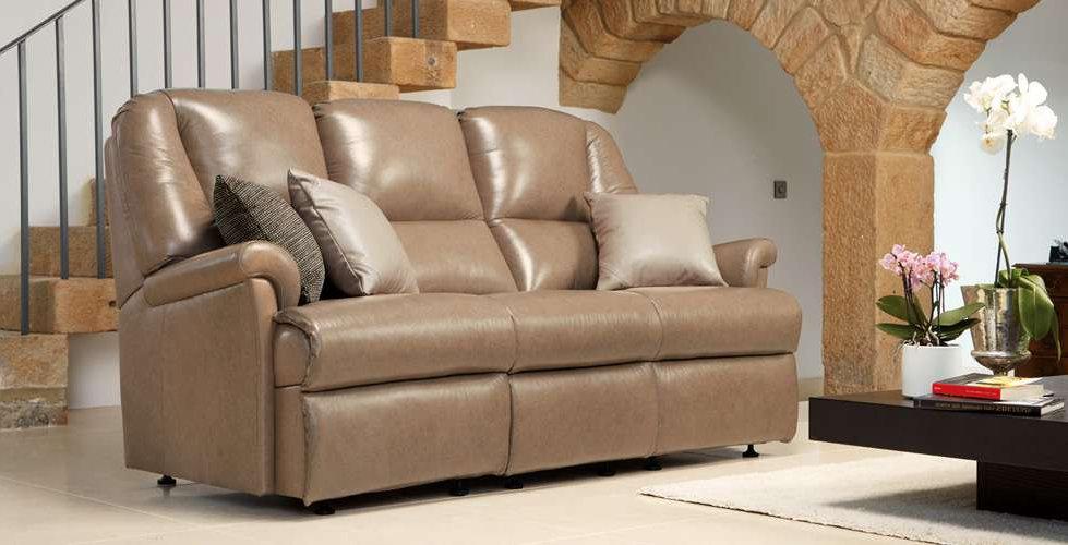 Weymouth Leather 3 SeaterSofa
