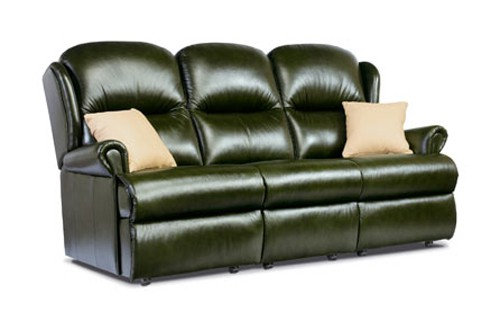 Monty Leather Standard 3 Seater Sofa