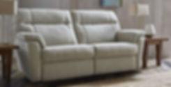 Burlington 2 Seater Power Recliner Sofa