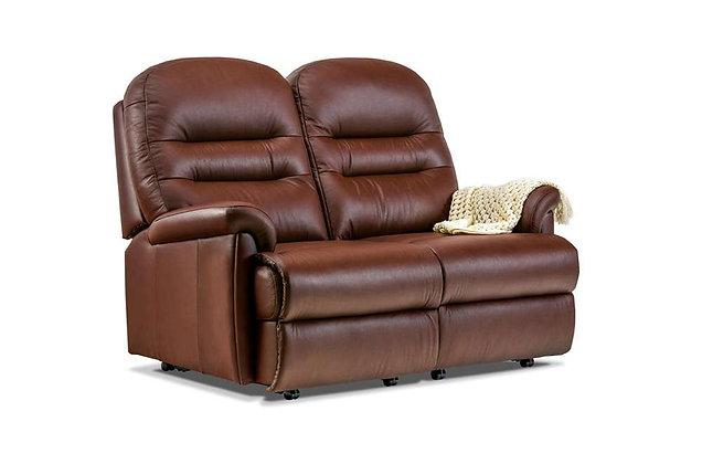 Seaton Leather Petite 2 Seater Sofa