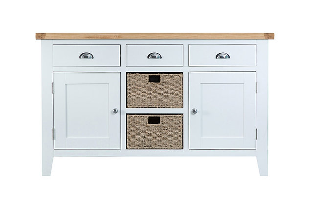 Country Large Sideboard (Wimborne White)