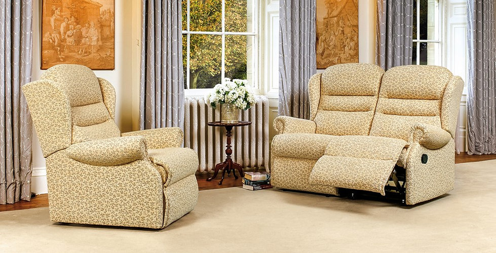 Vienna 2 Seater Recliner Sofa and Armchair