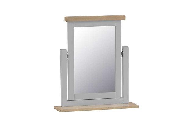 Country Dressing Table Mirror (Ferndown Grey)