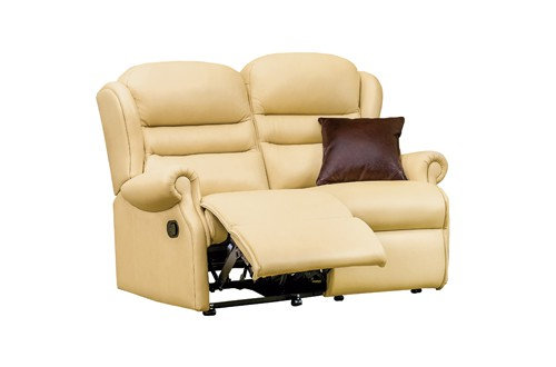 Vienna Leather Standard 2 Seater Recliner Sofa