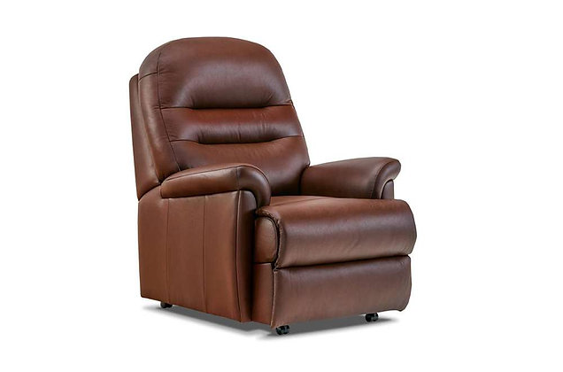 Seaton Leather Small Chair