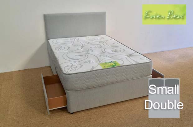 Eden Beds Orchid Small Double 2 Drawer Divan