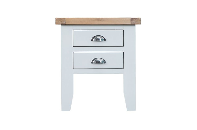 Country Lamp Table (Wimborne White)