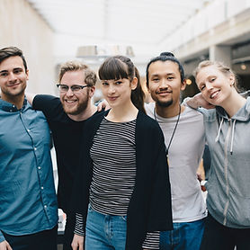 Group Portrait of Friends