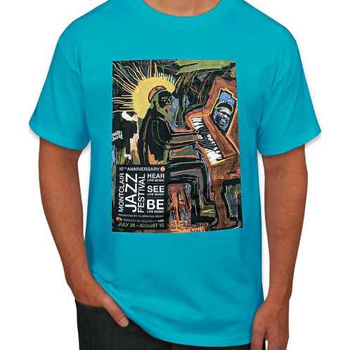 10TH ANNIVERSARY TEAL FESTIVAL T-SHIRT