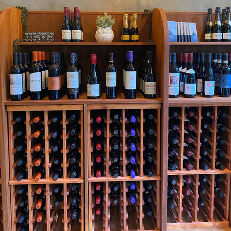 Wine Retail Section