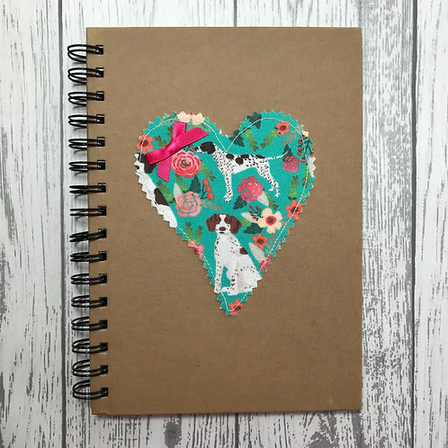 Floral Pointer Lined Notebook