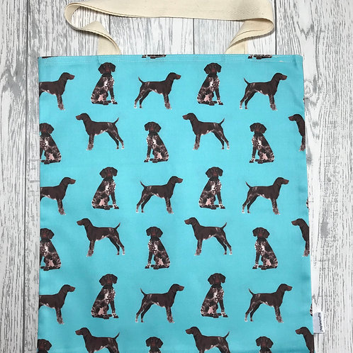 Turquoise German Shorthaired Pointer Bag for Life