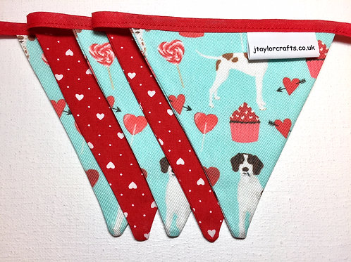 Blue Pointer Mini Bunting