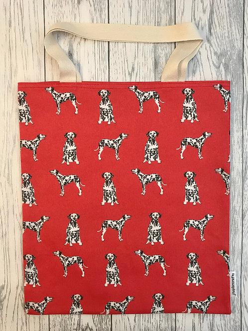 Red Dalmatian Bag for Life