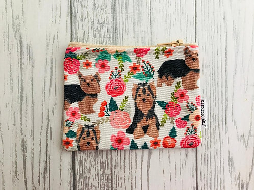 Yorkshire Terrier Coin Purse