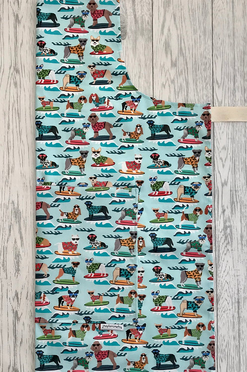 Surfing Dogs Apron