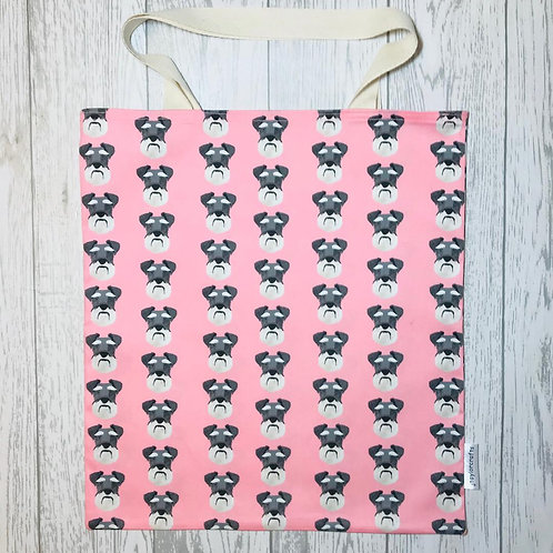 Pink Schnauzer Bag for Life