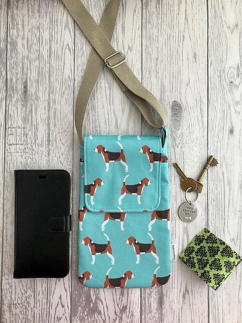 Green Beagle Handy Shoulder Bag