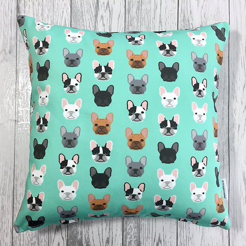French Bulldog Print Cushion Cover