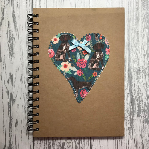 German Pointer Lined Notebook