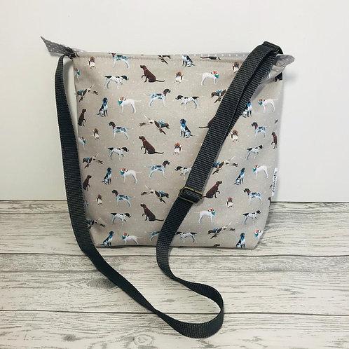 Vintage Pointer Tote Shoulder Bag