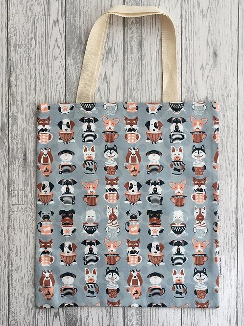 Latte - Dog Print Bag for Life