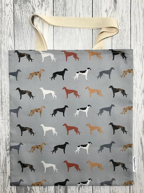 Grey Greyhound Bag for Life