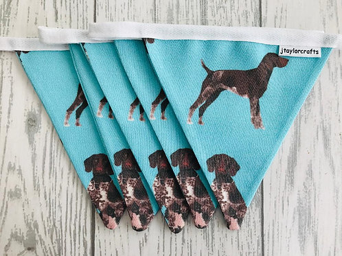 German Shorthaired Pointer Blue Bunting