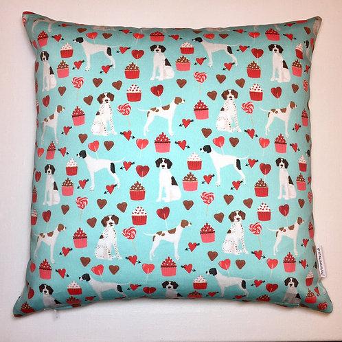 Blue Pointer Cushion Cover