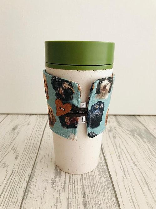 Cockapoo / Doodle Dog  Print Cup Cozy