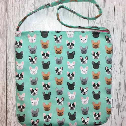 French Bulldog Shoulder Tote Bag