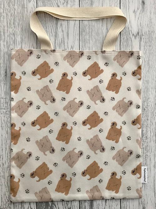 Wheaten Terrier Dog Print - Bag for Life