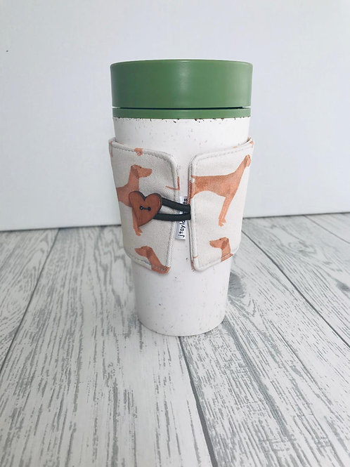 Hungarian Vizsla Print Cup Cozy