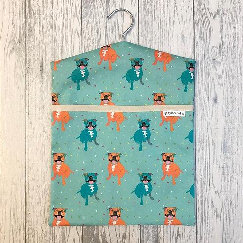 Staffordshire Bull Terrier Peg Bag