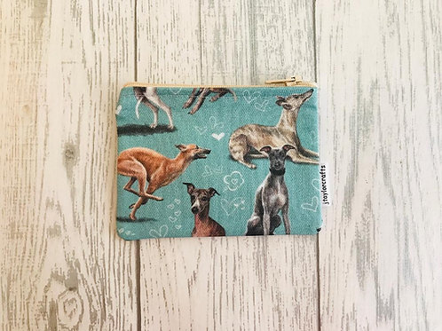 Whippet Coin Purse