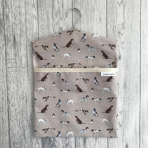 Vintage Pointer Peg Bag