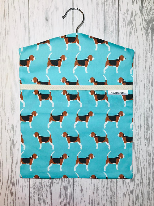 Beagle Dog Peg Bag