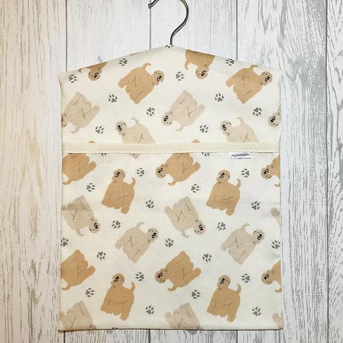 Wheaten Terrier Peg Bag