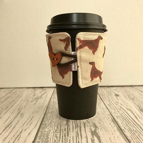 Irish Setter Print Cup Cozy