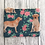 Thumbnail: Yellow Labrador Floral Fabric Coin Purse