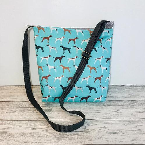 Blue Pointer Tote Shoulder Bag
