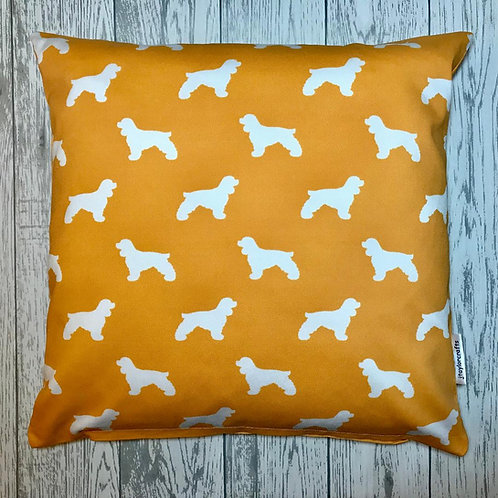 Cocker Spaniel Cushion Cover