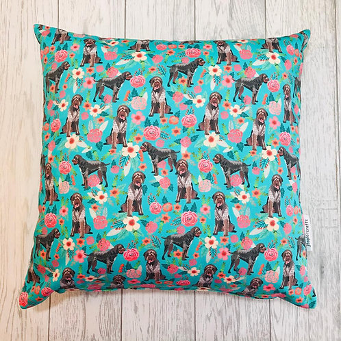 German Wirehaired Pointer Cushion Cover