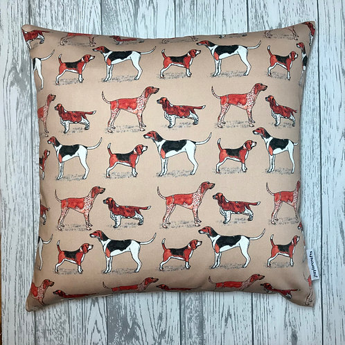 Hound Dogs Cushion Cover