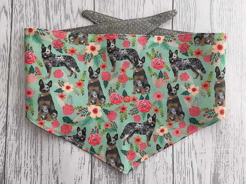 Australian Cattle Dog Reversible Tie Bandana