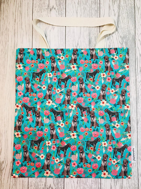 German Wirehaired Pointer Print Bag for Life