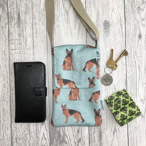 German Shepherd Dog Handy Shoulder Bag