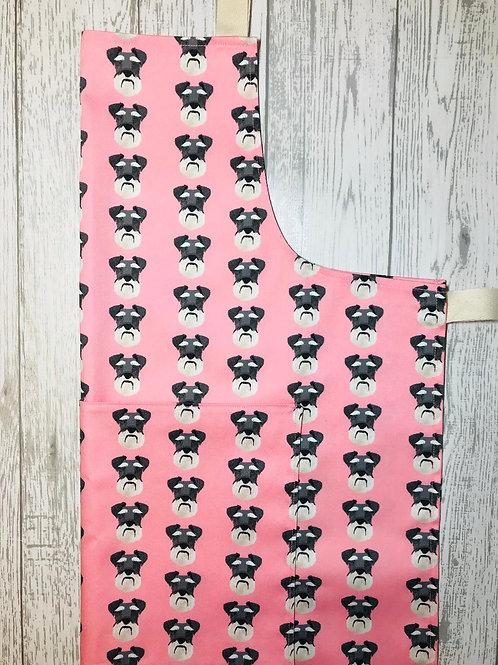Pink Schnauzer Apron